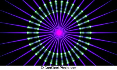 ray, light fancy pulse, seamless loop, HD