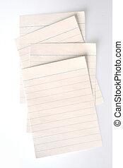 rayado, papel cuaderno