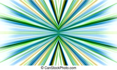 rayon, lumières, disco, vert, lumière néon