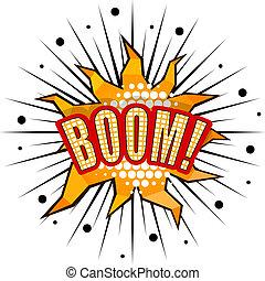 Dessin anim boom clipart vectoris recherchez - Boom dessin anime ...