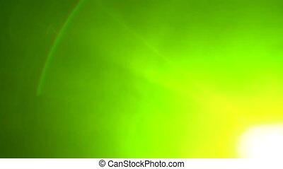 rayons, fumée, lumière, clignotement, arrière-plan noir, multicolore