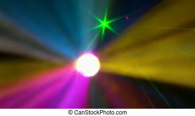 rayons, laser