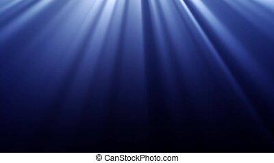 rayons, lumière
