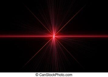 rayos, laser