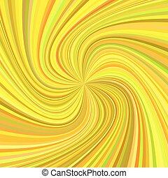 rayos, plano de fondo, colorido, girado, -, ilustración, vector, tonos, remolino, geométrico
