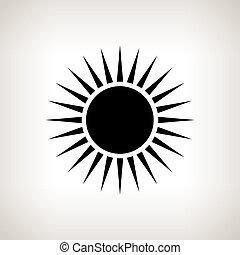 Rayos Estrella Flare Amarillo Lente Fondo Negro Luz