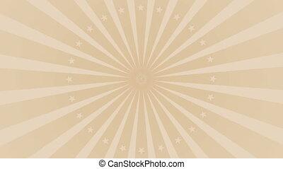 Rays. background . Rotate loop