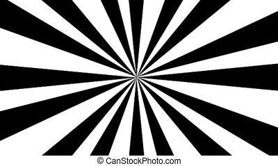 Rays - Black and white rays