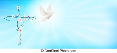 rays., evangelization., signo., purity., easter., vuelo, ...