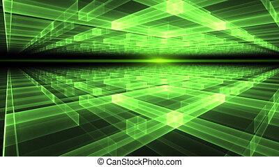 Rays of Light, Green Horizon