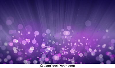 Rays of Light with Elegant Bokeh Background.