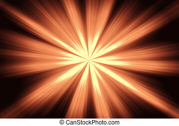 Rays of the sun. Abstract background