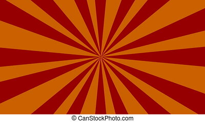 Rays - Orange rays
