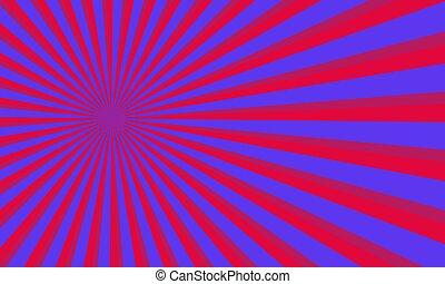 rays., template., 背景, 紫色, pattern., サーカス, 型, ベクトル, レトロ, ポンとはじけなさい, 背景, ブーム, 漫画, 芸術, 漫画
