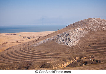Razim lake seen from Heracleea