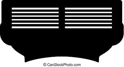 Razor cartridge, shade picture