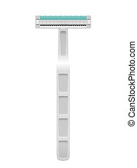Razor on a white background. Vector illustration.