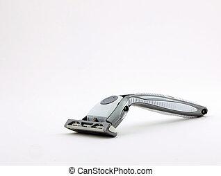 Razor - Photo of a razor shot on a white background