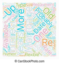 Re mortgages Get Up To Date text background wordcloud...