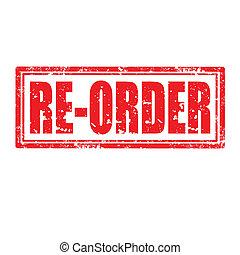 re-order, postzegel