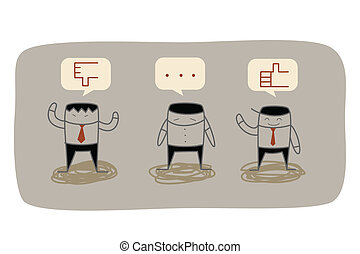 reacción, empresa / negocio, mercadotecnia, pregunta,...