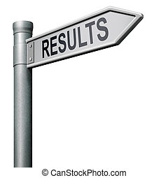 reach goal get results and succeed business success be a winner in business elections poll or sports