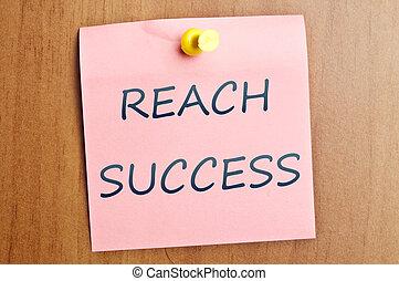 Reach succes
