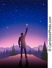 Reaching For The Star