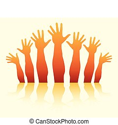Reaching summer hands design. - Reaching summer hands design...