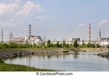reactor nuclear, chernobyl