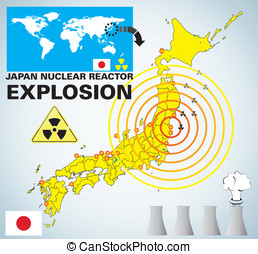 reactor nuclear, explosión