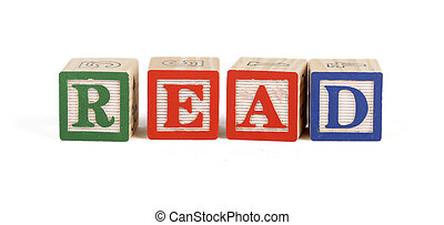 Read - Alphabet blocks