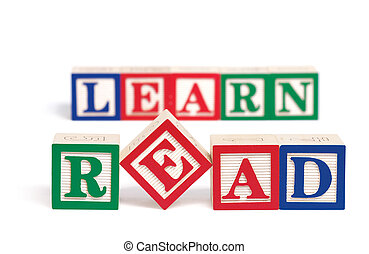 Read And Learn Alphabet Blocks