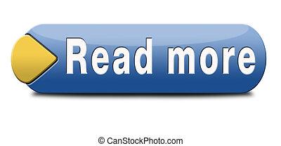read more - Read more button or icon