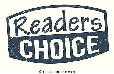 Readers choice sign or stamp on white background, vector ...