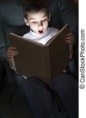 reading:, אור, של, ידע