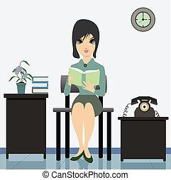reading., 女