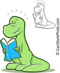Reading Dinosaur