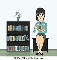 reading., femme