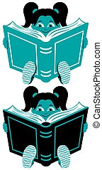 Reading Girl 2