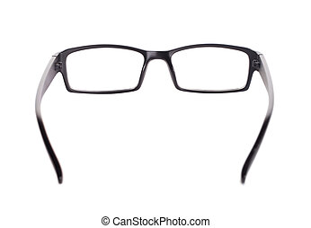 reading glasses isolated on white background