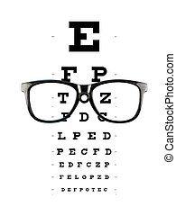 Reading Glasses - Reading glasses isolated against a white ...