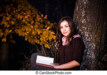 Reading in nature II