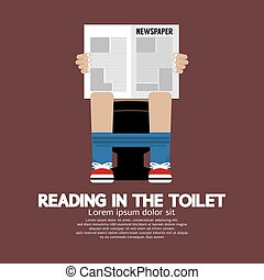 Reading in The Toilet Vector.