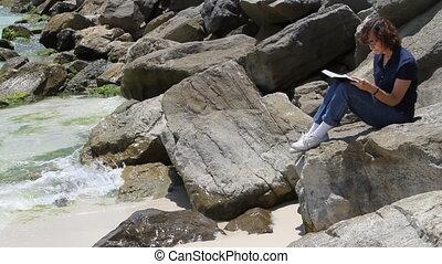 Reading On Rocks