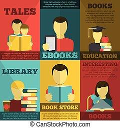 Reading Poster Set
