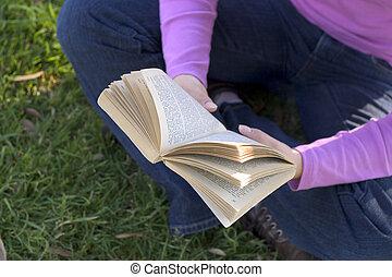 Reading - Someone reading