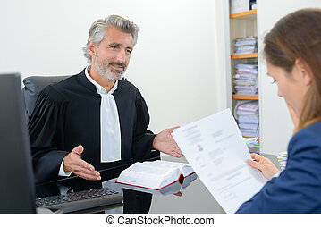 reading the decision