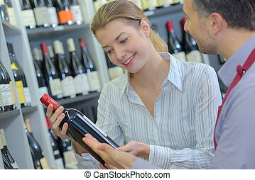 reading the wine label