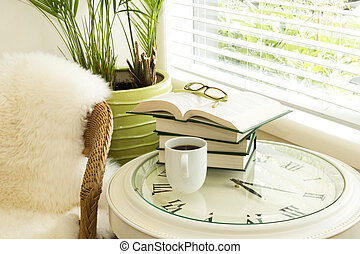 Reading Time with Coffee